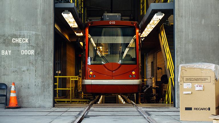 Maintenance tramway dsdsystem